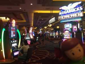 Mondelis Mary at the casino Las Vegas